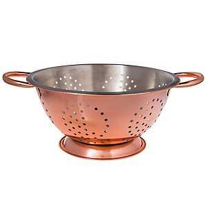 Copper 5 Quart Colander
