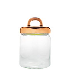 Copper Loop Glass Canister, 41 oz.