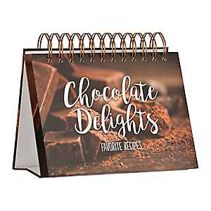 Chocolate Delights Favorite Recipe Easel Book