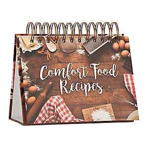 Comfort Food Recipe Easel Book