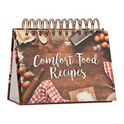 Comfort Food Recipe Easel Book