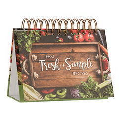 Fast Fresh and Simple Recipe Easel Book