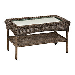 Peppercorn Wicker Coffee Table