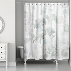 Soft Wildflowers Shower Curtain