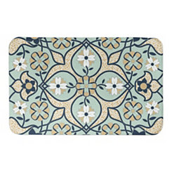 Mint Tile Bath Mat