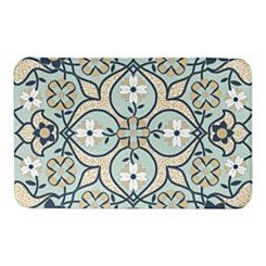 Mint Tile Bath Mat