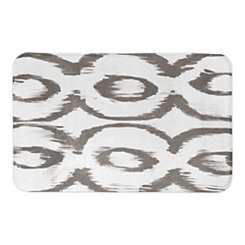 Taupe Cat Eye Bath Mat