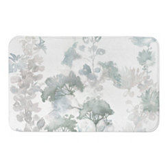 Soft Wildflowers Bath Mat
