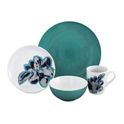Bloom Jade 16-pc. Dinnerware Set