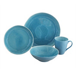 Aqua Current 16-pc. Dinnerware Set