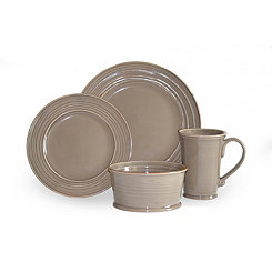 Tuscany Stone 16-pc. Dinnerware Set