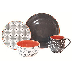 Lynx 16-pc. Dinnerware Set
