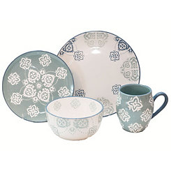 Painterly 16-pc. Dinnerware Set
