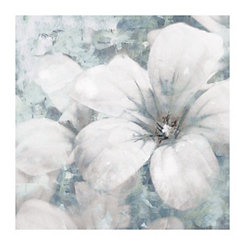 Primo Fiore Gray Canvas Art Print