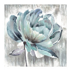 Glory Mixed Blues Canvas Art Print