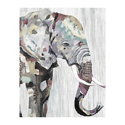 Soft Elephant Canvas Art Print