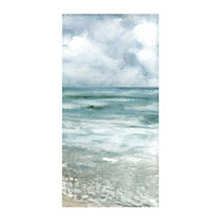 Soft Silent Shore Canvas Art Print