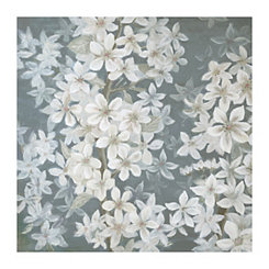 Gray Spring Fling Canvas Art Print