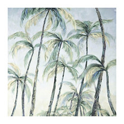 Light Palm Paradise Canvas Art Print