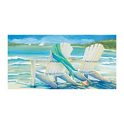 Seaside Breeze Canvas Art Print