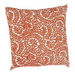 Rust Westley Leaves Pillow