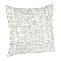 Gray Woven Carsen Pillow