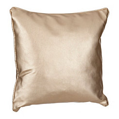Allie Embossed Gold Pillow