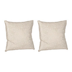 Gold Persia Print Pillows, Set of 2