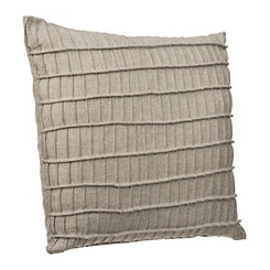 Gray Rayner Pleated Stripe Pillow