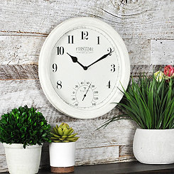 Costa Outdoor Wall Clock