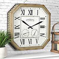 Rural Outdoor Wall Clock