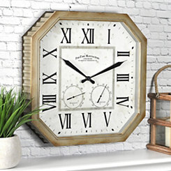 Rural Outdoor Wall Clock