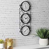 Bronze Allegri Outdoor Wall Clock