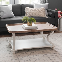 Corina Scalloped Coffee Table