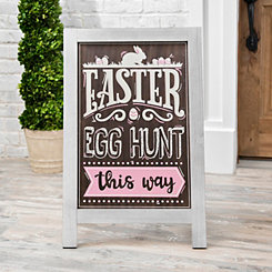 Easter Egg Hunt Wood Easel