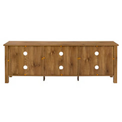 Barnwood Media Console, 70 in.