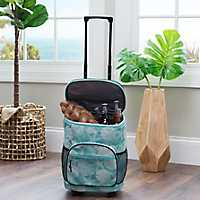Turquoise Sand Dollar Rolling Cooler