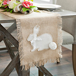 Jute Bunny Table Runner