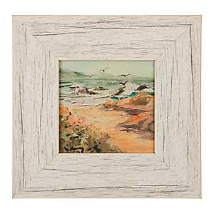 Rustic Coastline Framed Art Print