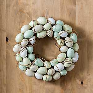 Easter Egg Foam Wreath, 14 in.