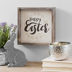 Happy Easter Painted Framed Art