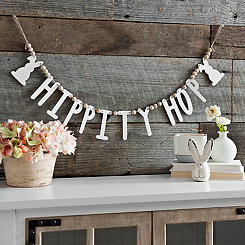Hippity Hop Beaded Banner