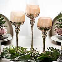 Blush Metallic Charismas, Set of 3