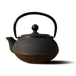Black Cast Iron Sapporo Teapot