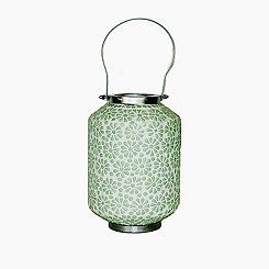 Light Green Mosaic Lantern