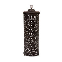 Bronze Lace Toilet Paper Holder