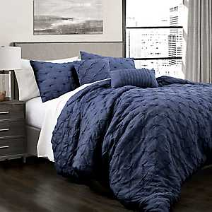 Navy Ravello 5-pc. King Comforter Set