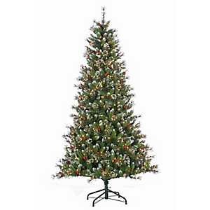 7.5 ft. Pre-Lit Glazier Pine Christmas Tree