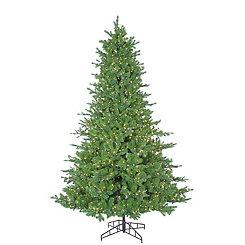 7.5 ft. Pre-Lit Pacific Pine Christmas Tree