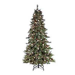 7.5 ft. Pre-Lit Arcadia Pine Christmas Tree